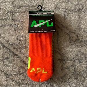 APL Athletic Socks Cushioned Performance Orange